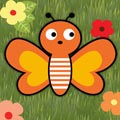 لعبة الفراشة الجميلة