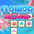 لعبة لغز سودوكو الزهور
