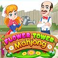 لعبة ماجونغ برج الزهور
