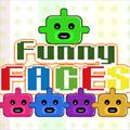 لعبة إسقاط الوجوه المضحكة