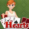 لعبة ورق قلوب