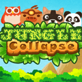 لعبة مطابقة حيوانات الغابة