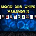 لعبة ماجونغ الأبيض والأسود