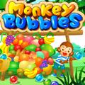 لعبة فقاعات القرد