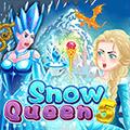 لعبة مطابقة كرات ملكة الثلج