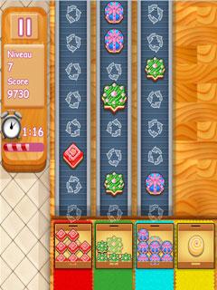 لعبة فرز الحلويات